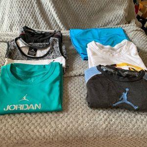 Lot of Air Jordan Clothing